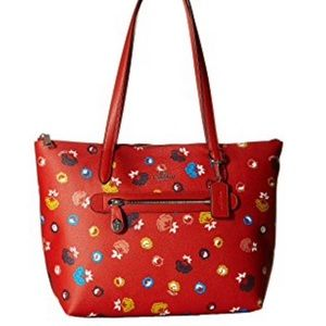 NWT Coach floral printed Taylor tote